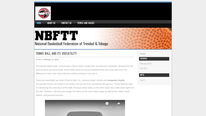 National Basketball Federation of Trinidad and Tobago