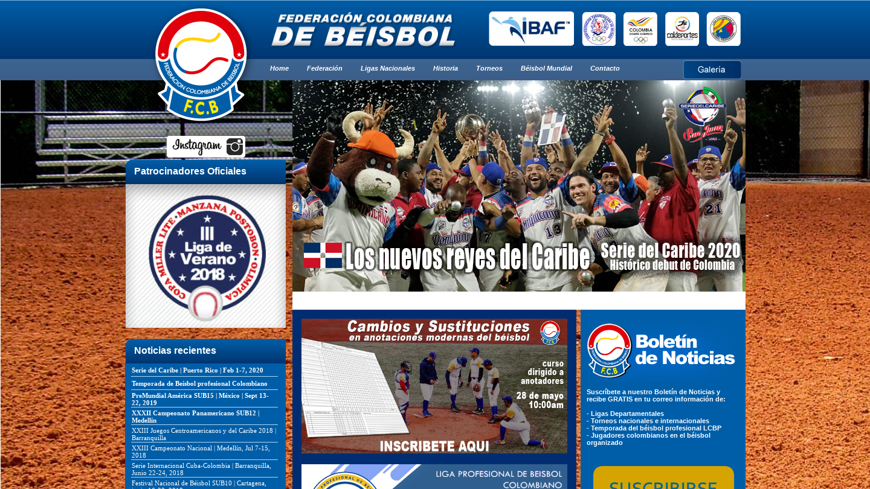 Federacion Colombiana de Beisbol