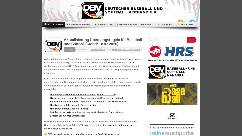 Deutscher Baseball und Sotball Verband eV