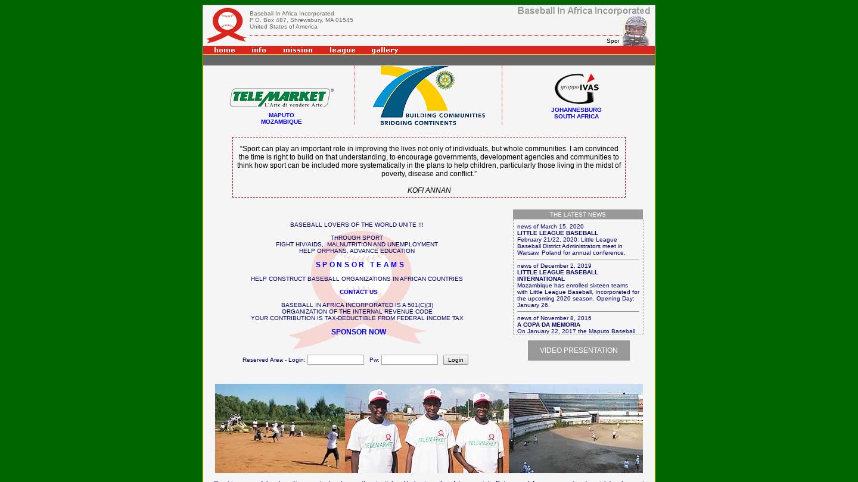Mozambique Baseball Academy
