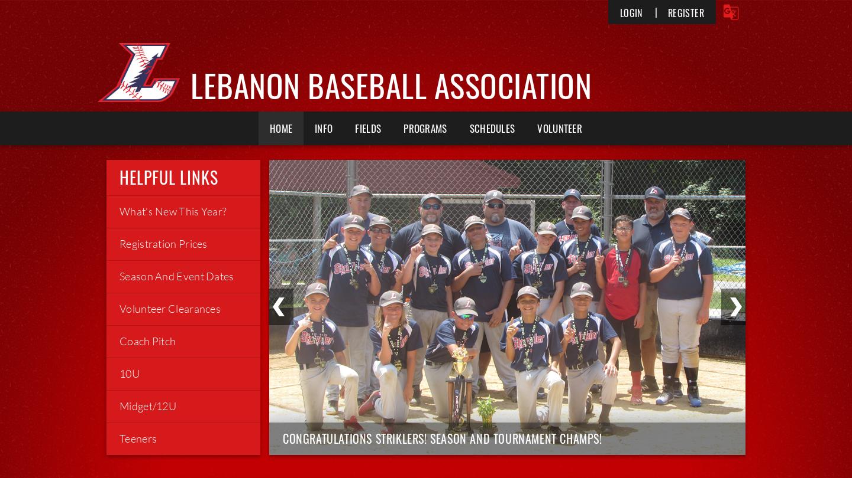 Lebanon Baseball Association