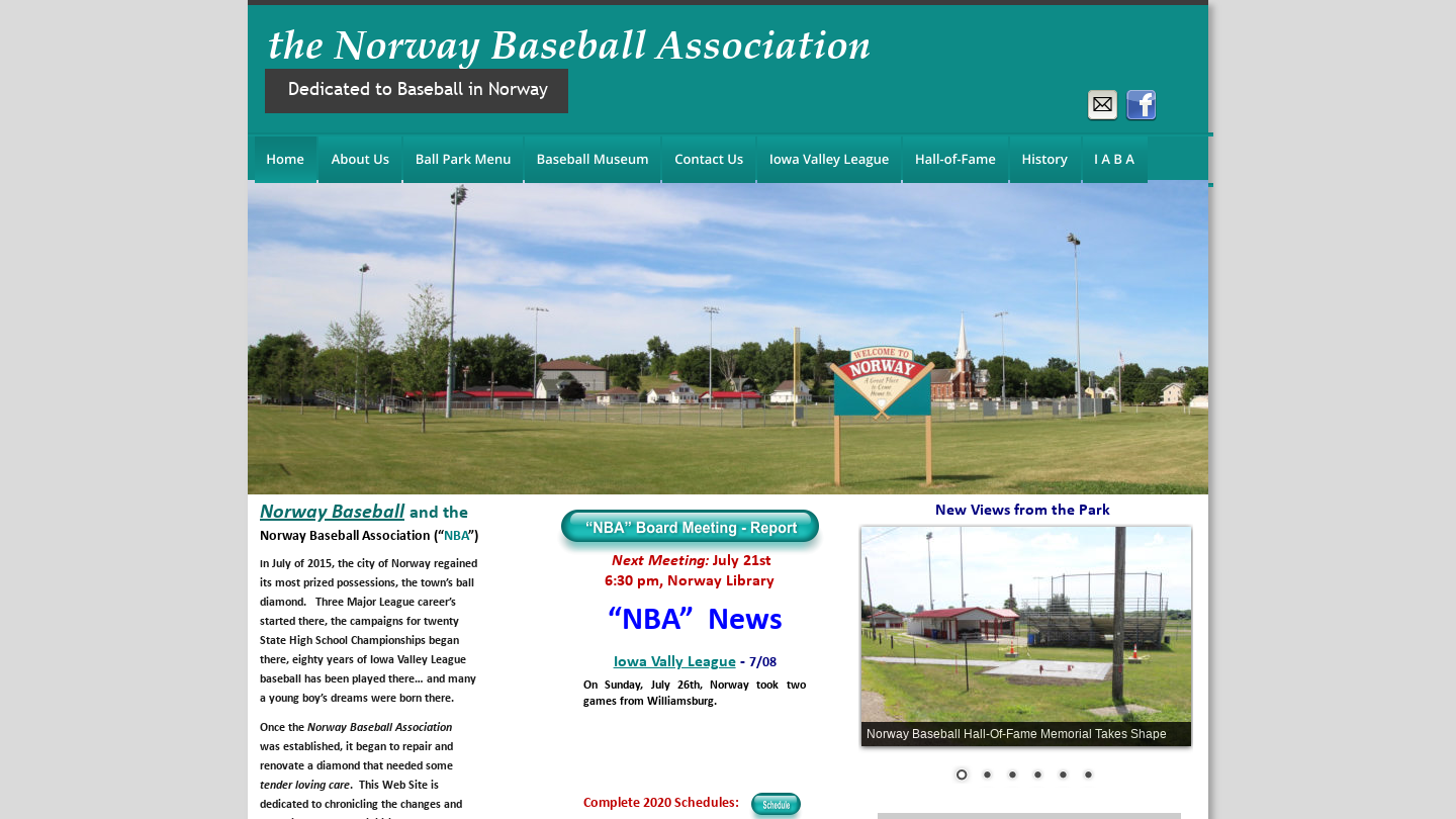 Norway Baseball Association