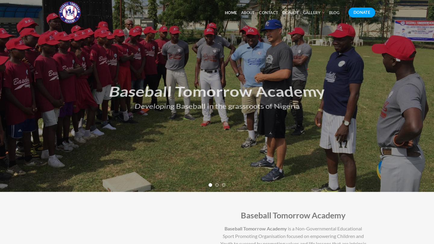 Baseball Tomorrow Academy