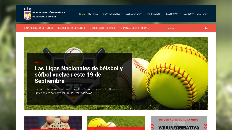 Real Federación Española de Béisbol y Sófbol
