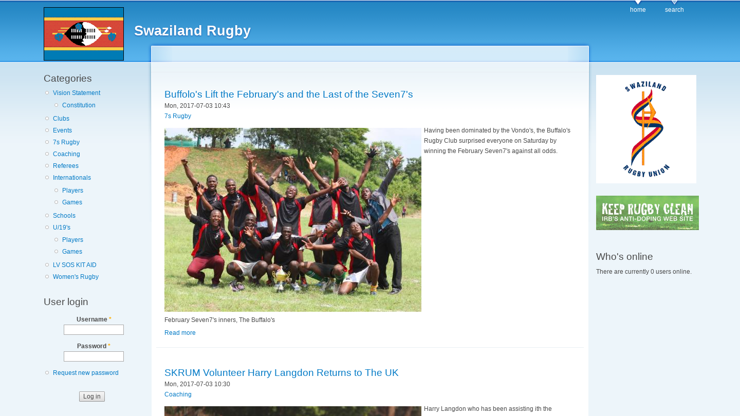 Swaziland Rugby