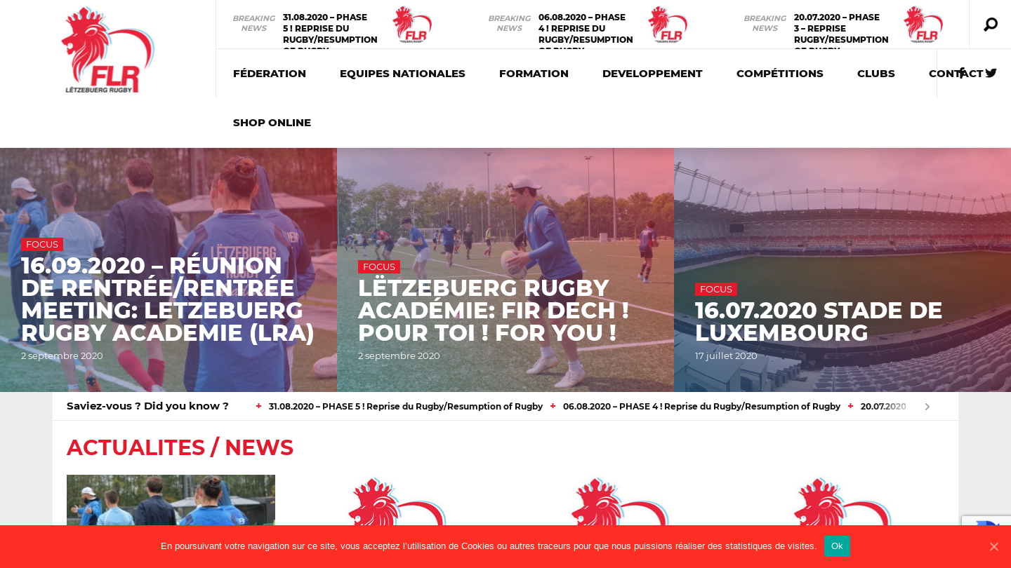 Luxembourg Rugby Federation