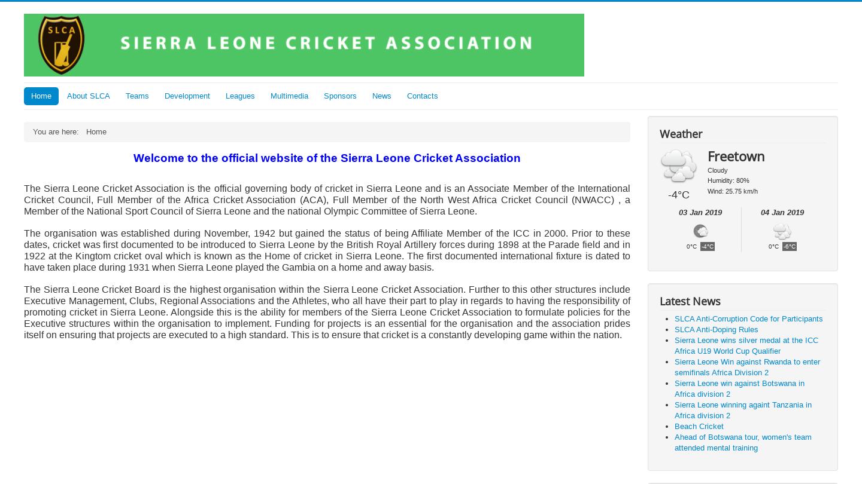 Sierra Leone Cricket Association