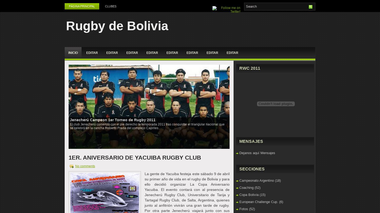 Federación Boliviana de Rugby
