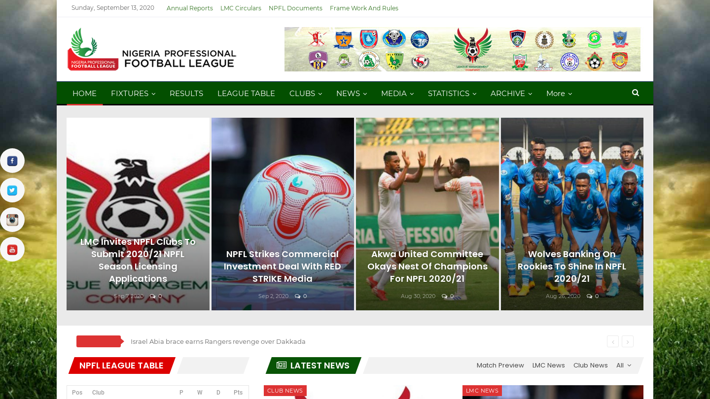 Nigerian Professional Football League