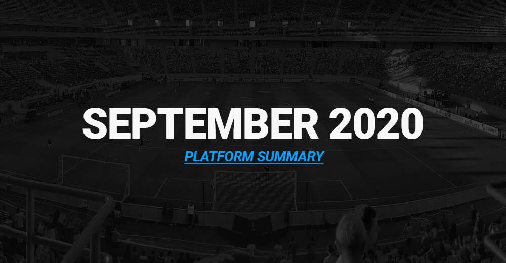 Platform Summary – September 2020