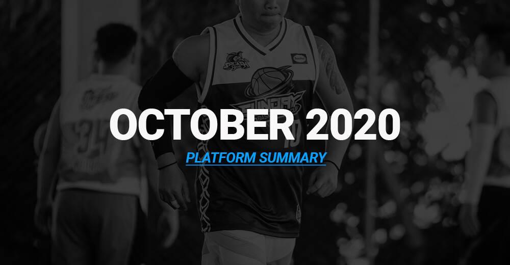 October 2020 – Platform Summary