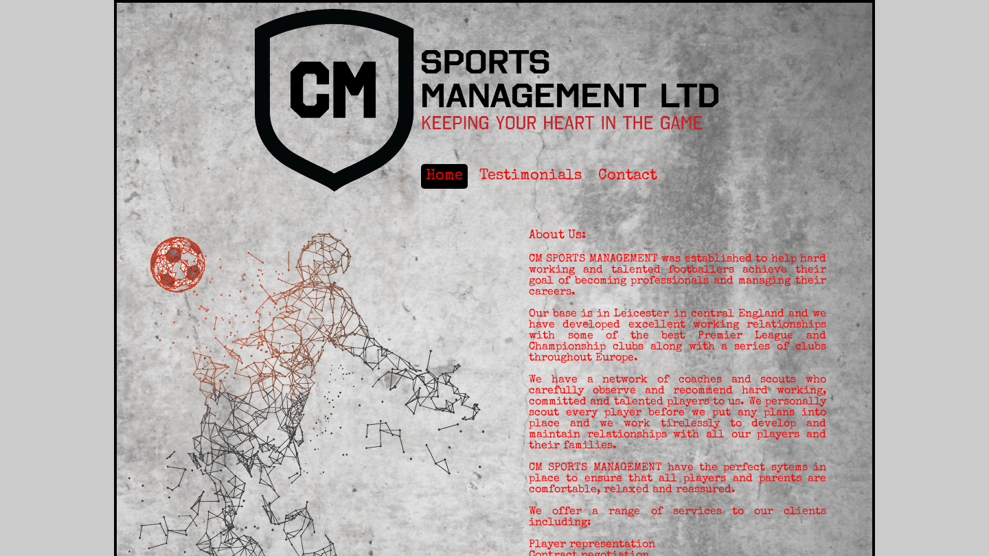 CM Sports Management