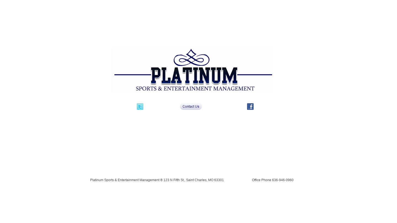 Platinum Sports & Entertainment Management
