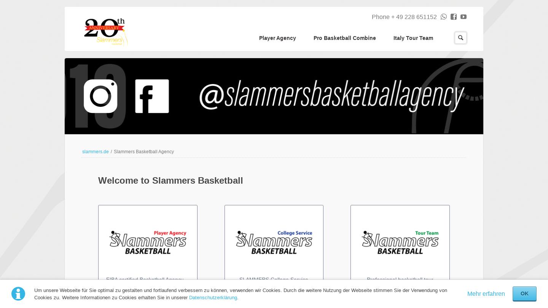 Slammers Basketball Agency