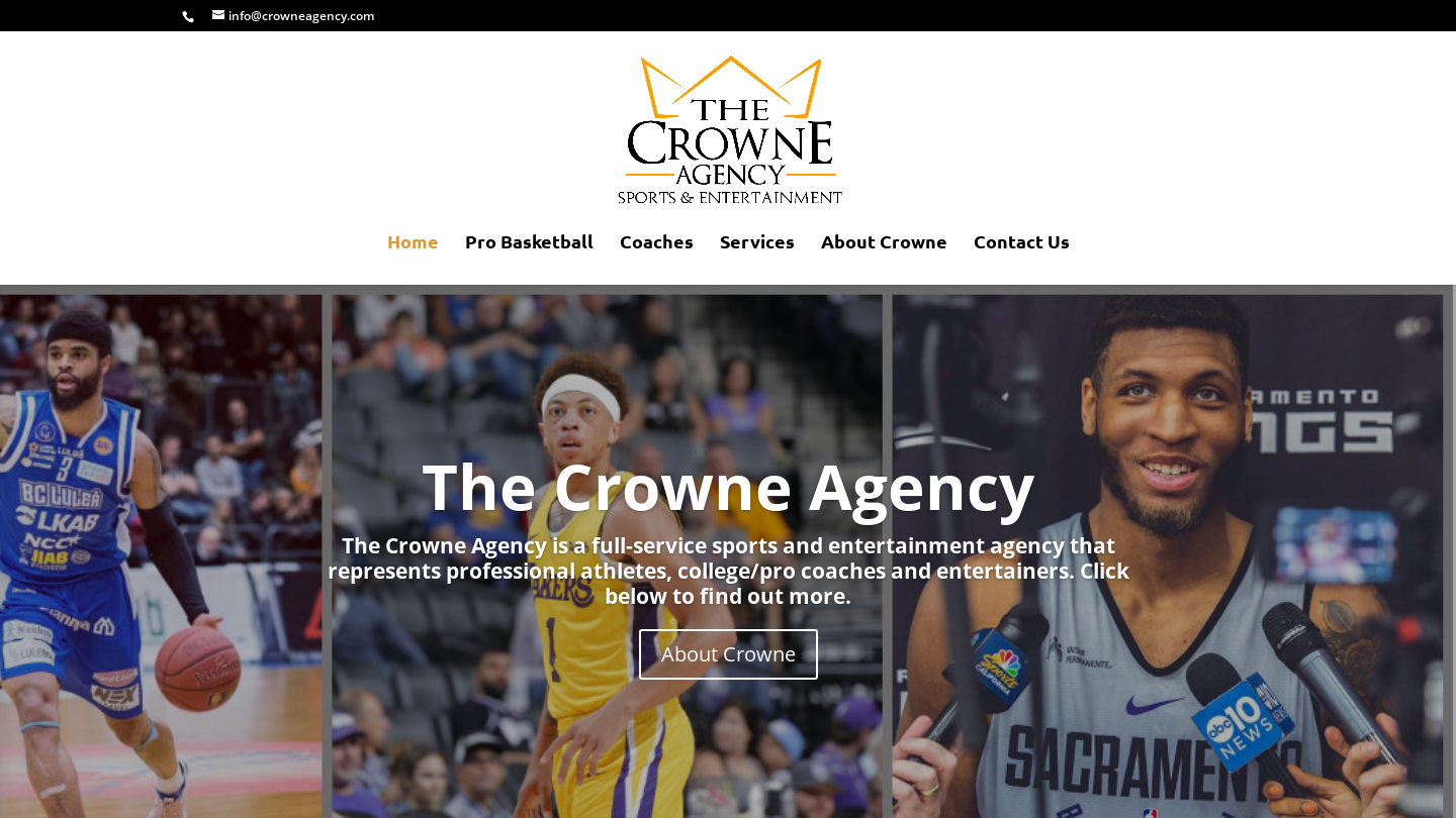 The Crowne Agency – Sports & Entertainment