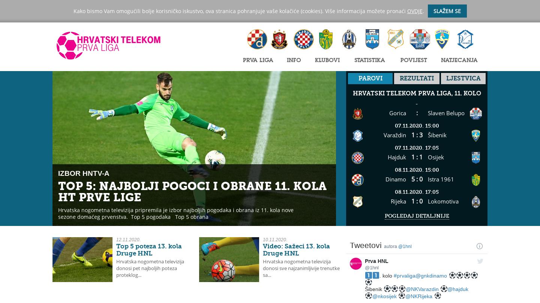 Croatian First Football League