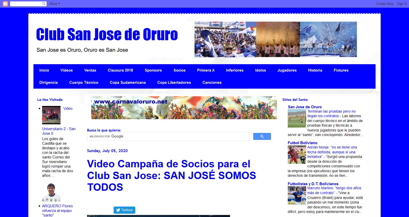 Club San Jose Oruro