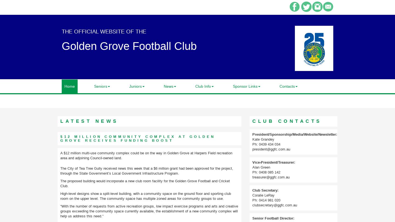 Golden Grove Football Club