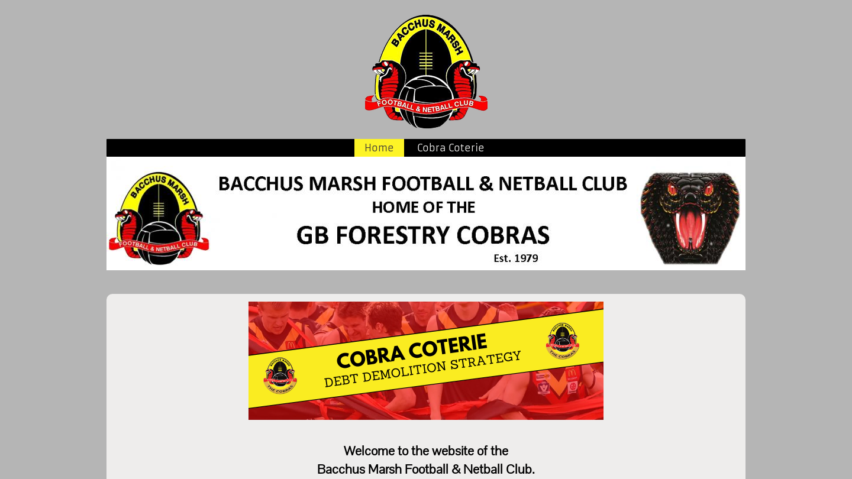 Bacchus Marsh Football & Netball Club