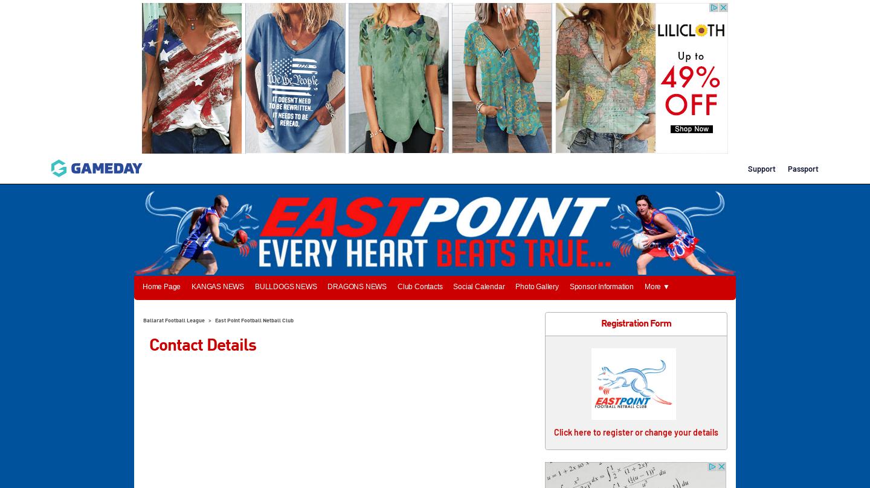 East Point Football Netball Club