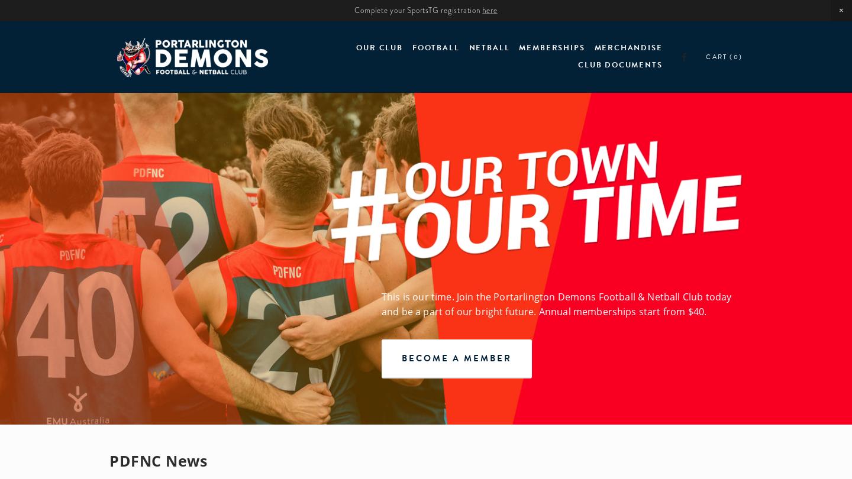 Portarlington Demons Football & Netball Club