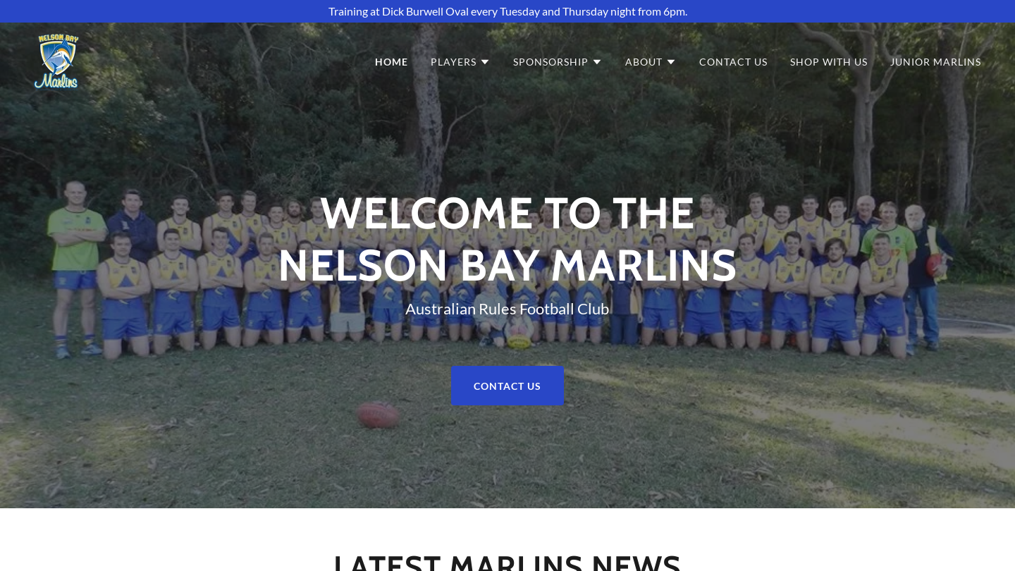 Nelson Bay Marlins