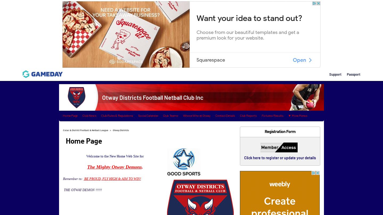 Otway Districts Football Netball Club