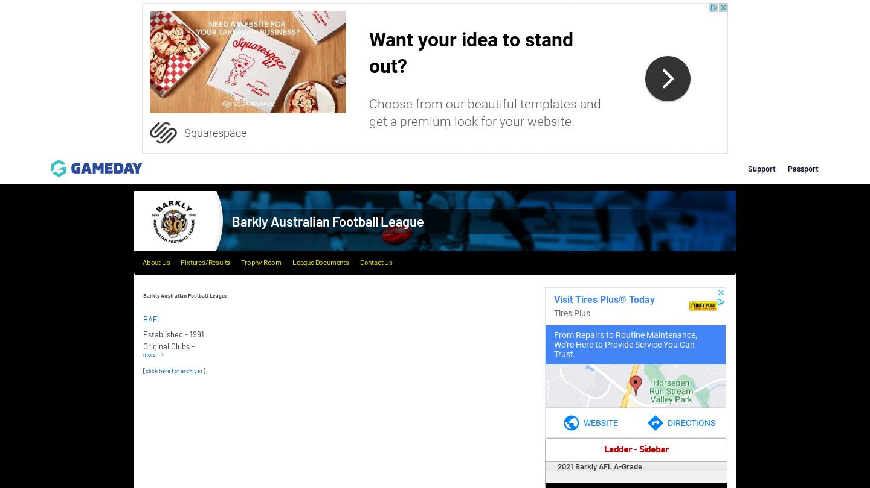 Barkly Australian Football League