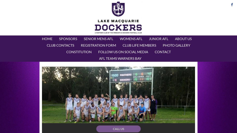 Lake Macquarie Dockers