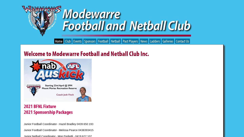 Modewarre Football and Netball Club