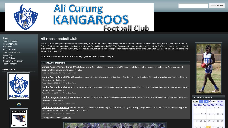 Ali Roos Football Club