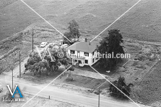 Vintage Aerial California San Diego County 1967 1