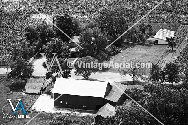 Vintage Aerial Indiana Allen County 1976 53 Eal 19