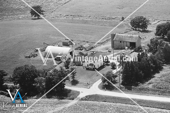 Vintage Aerial Iowa Allamakee County 1969 19 Eal 19