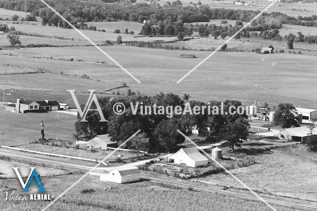 vintage aerial missouri carroll county 1981 16 dca 2. Black Bedroom Furniture Sets. Home Design Ideas