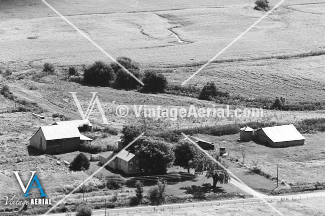 vintage aerial missouri carroll county 1981 19 dca 2. Black Bedroom Furniture Sets. Home Design Ideas