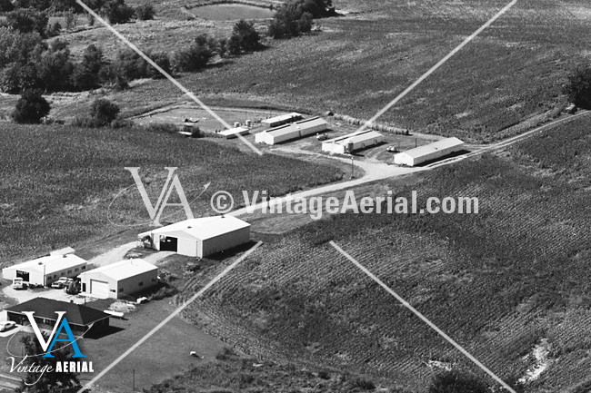 vintage aerial missouri carroll county 1981 21 dca 2. Black Bedroom Furniture Sets. Home Design Ideas