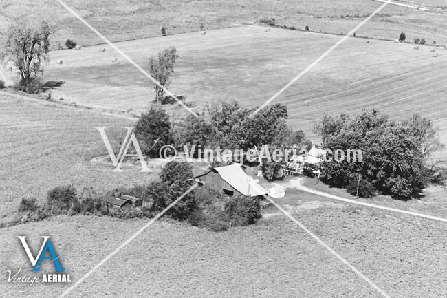vintage aerial missouri carroll county 1981 22 dca 2. Black Bedroom Furniture Sets. Home Design Ideas