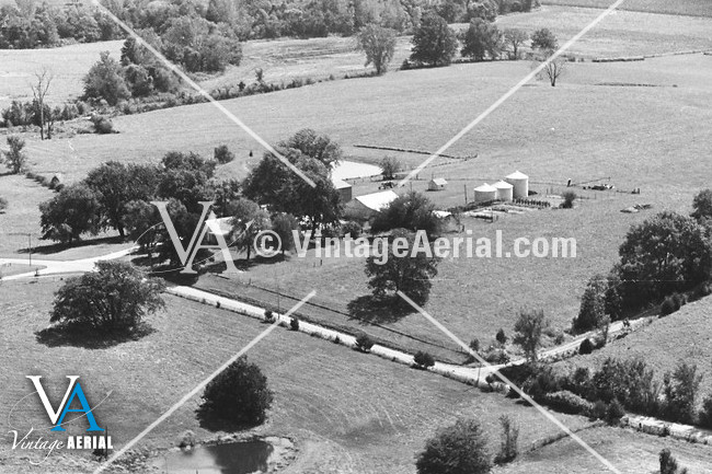 vintage aerial missouri carroll county 1981 24 dca 2. Black Bedroom Furniture Sets. Home Design Ideas