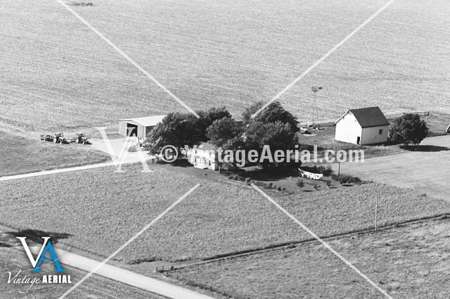 vintage aerial missouri carroll county 1981 28 dca 2. Black Bedroom Furniture Sets. Home Design Ideas
