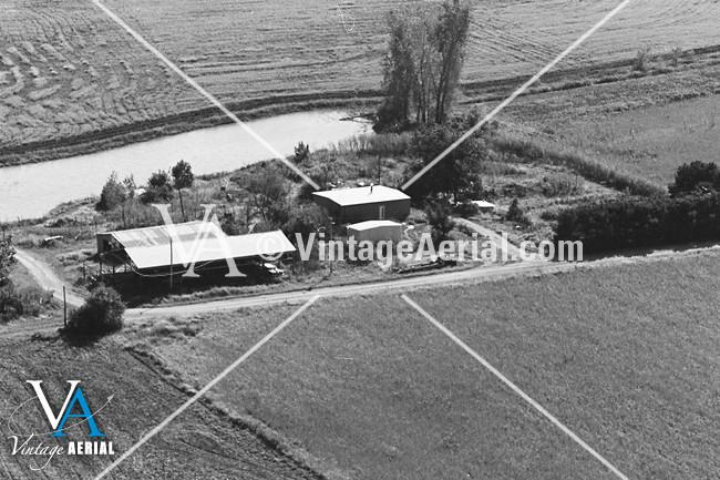 vintage aerial missouri carroll county 1981 29 dca 2. Black Bedroom Furniture Sets. Home Design Ideas