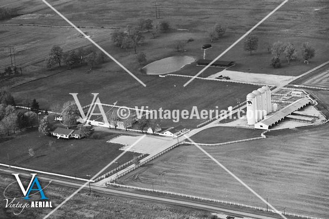 Vintage Aerial Ohio Delaware County 1979 55 Bde 13
