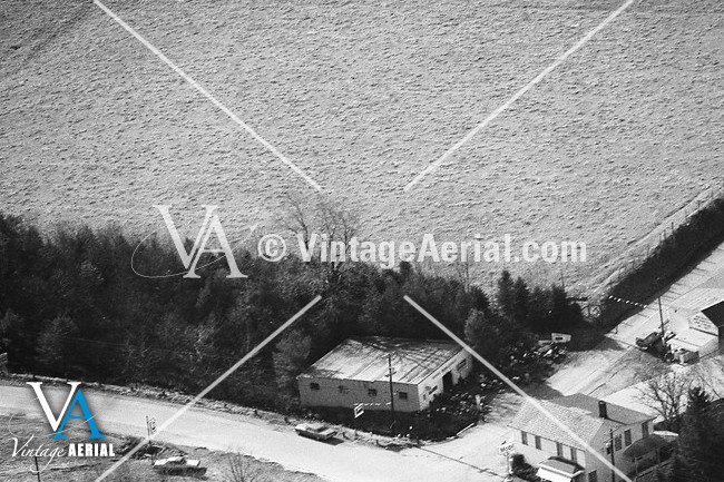 Vintage Aerial Pennsylvania Fayette County 1976 39