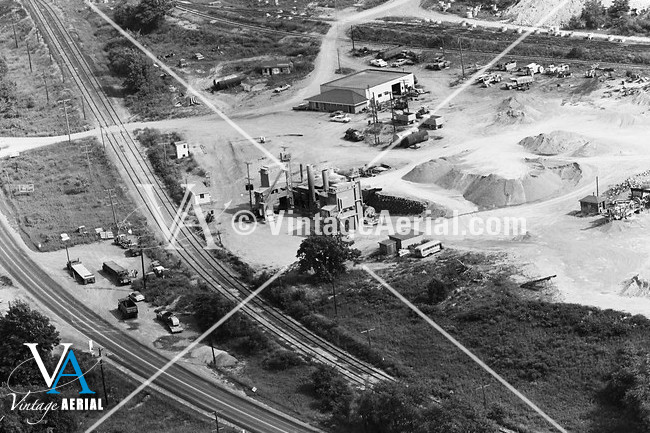 Vintage Aerial | Pennsylvania | Lawrence County | 1967 | 42