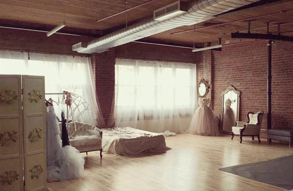 Beautiful natural light photography studio