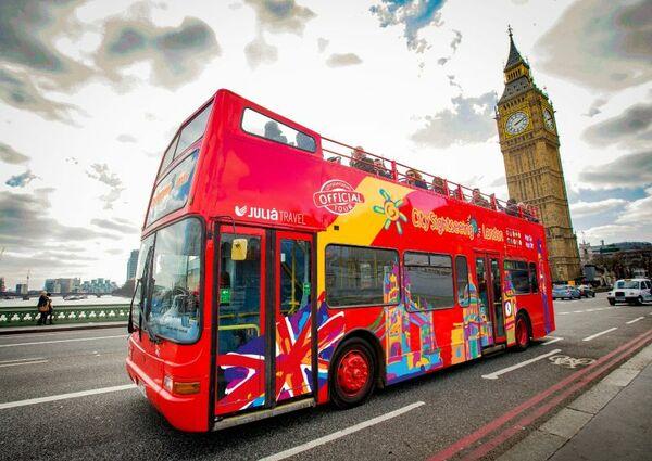 picture for London Walking Tours + Hop-on Hop-off Bus Tour