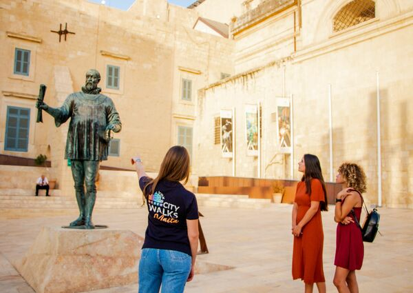 picture for Malta Walking Tour Pass: 2 Guided & 3 Self-Guided Routes