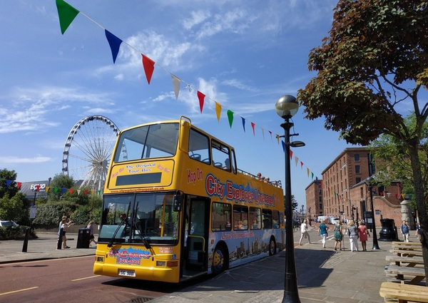 picture for Liverpool Walking Tours + Hop-on Hop-off Bus Tour