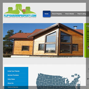 A Real estate website design by affordable web design and seo company