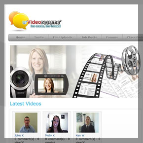 A video resume website by affordable web desgn and seo comapny